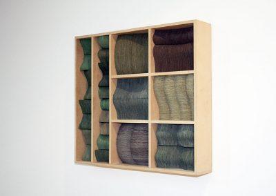 Julia Gardiner, Rise Col Bluff, 520 x 460 x 90 mm, 2006