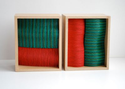 Red Green, 120 x 140 x 75 mm, 2012, Private Collection