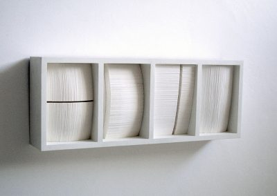 4 Paper Forms, 540 x 260 x 90 mm, 2003