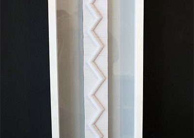 Julia Gardiner, Drift, framed, 1020 x 280 x 80 mm, 2013