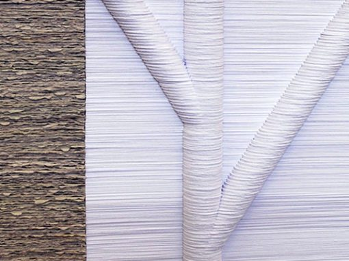 White/Gray White/Brown Portfolio